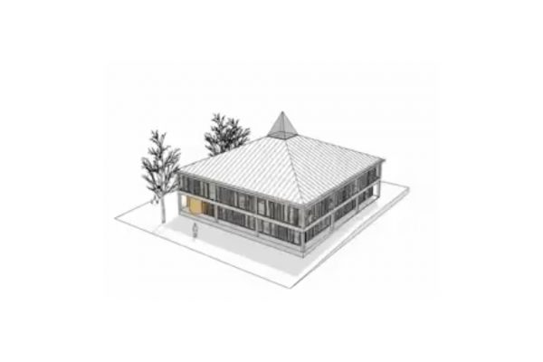 Burnt Oak Library 3D Model Fly-through