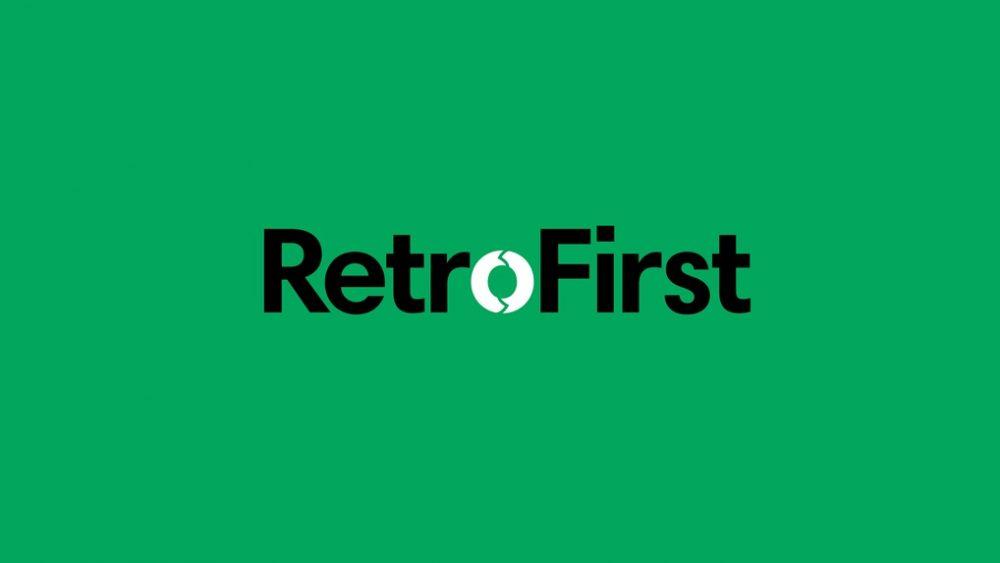 AJ RetroFirst Logo - Green